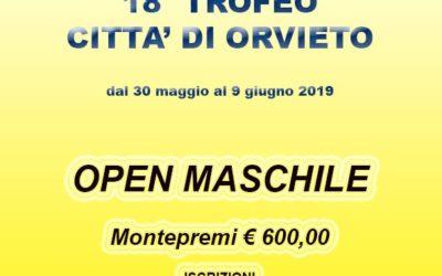 18° TROFEO CITTA' DI ORVIETO